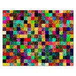 Pattern Rectangular Jigsaw Puzzl Front