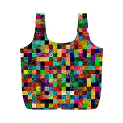 Pattern Full Print Recycle Bags (m)  by gasi