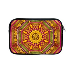 Sunshine Mandala And Other Golden Planets Apple Ipad Mini Zipper Cases by pepitasart