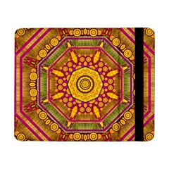 Sunshine Mandala And Other Golden Planets Samsung Galaxy Tab Pro 8 4  Flip Case by pepitasart