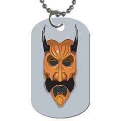 Mask India South Culture Dog Tag (one Side) by Celenk