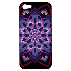 Mandala Circular Pattern Apple Iphone 5 Hardshell Case