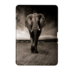 Elephant Black And White Animal Samsung Galaxy Tab 2 (10 1 ) P5100 Hardshell Case  by Celenk