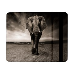 Elephant Black And White Animal Samsung Galaxy Tab Pro 8 4  Flip Case by Celenk