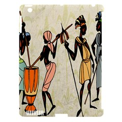 Man Ethic African People Collage Apple Ipad 3/4 Hardshell Case (compatible With Smart Cover) by Celenk