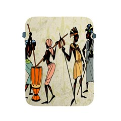 Man Ethic African People Collage Apple Ipad 2/3/4 Protective Soft Cases by Celenk