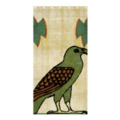 Egyptian Paper Papyrus Bird Shower Curtain 36  X 72  (stall)