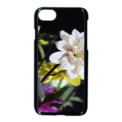 Dahlias Dahlia Dahlia Garden Apple Iphone 7 Seamless Case (black) by Celenk