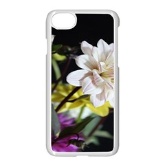 Dahlias Dahlia Dahlia Garden Apple Iphone 7 Seamless Case (white) by Celenk