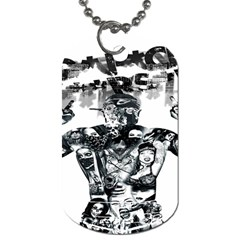 Black Music Urban Swag Hip Hop Dog Tag (one Side)