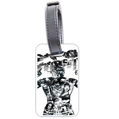 Black Music Urban Swag Hip Hop Luggage Tags (one Side)  by Celenk