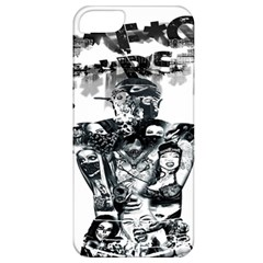 Black Music Urban Swag Hip Hop Apple Iphone 5 Classic Hardshell Case by Celenk