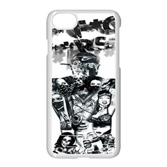 Black Music Urban Swag Hip Hop Apple Iphone 7 Seamless Case (white)