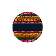 Pattern Ornaments Africa Safari Hat Clip Ball Marker (4 Pack)