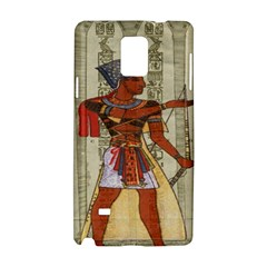 Egyptian Design Man Royal Samsung Galaxy Note 4 Hardshell Case by Celenk