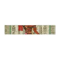 Egyptian Design Man Royal Flano Scarf (mini) by Celenk