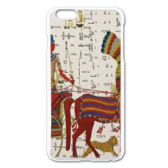 Egyptian Tutunkhamun Pharaoh Design Apple Iphone 6 Plus/6s Plus Enamel White Case