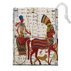 Egyptian Tutunkhamun Pharaoh Design Drawstring Pouches (xxl)