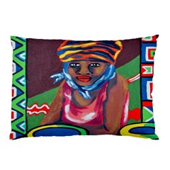 Ethnic Africa Art Work Drawing Pillow Case (two Sides)