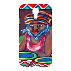 Ethnic Africa Art Work Drawing Samsung Galaxy S4 I9500/i9505 Hardshell Case by Celenk