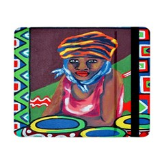 Ethnic Africa Art Work Drawing Samsung Galaxy Tab Pro 8 4  Flip Case by Celenk