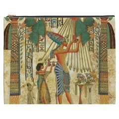 Egyptian Man Sun God Ra Amun Cosmetic Bag (xxxl)