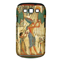 Egyptian Man Sun God Ra Amun Samsung Galaxy S Iii Classic Hardshell Case (pc+silicone) by Celenk