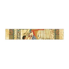 Egyptian Man Sun God Ra Amun Flano Scarf (mini) by Celenk