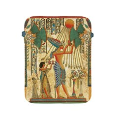 Egyptian Man Sun God Ra Amun Apple Ipad 2/3/4 Protective Soft Cases by Celenk