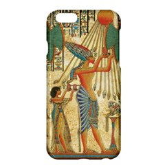 Egyptian Man Sun God Ra Amun Apple Iphone 6 Plus/6s Plus Hardshell Case by Celenk