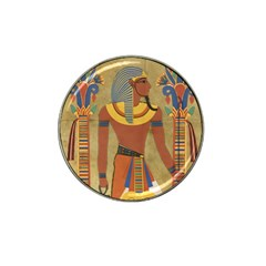 Egyptian Tutunkhamun Pharaoh Design Hat Clip Ball Marker (4 Pack)