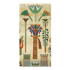 Egyptian Paper Papyrus Hieroglyphs Shower Curtain 36  X 72  (stall)