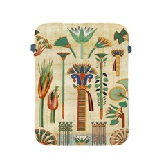 Egyptian Paper Papyrus Hieroglyphs Apple Ipad 2/3/4 Protective Soft Cases