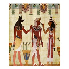 Egyptian Design Man Woman Priest Shower Curtain 60  X 72  (medium)  by Celenk