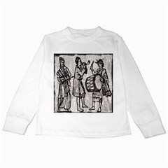 Man Ethic African People Collage Kids Long Sleeve T Shirts