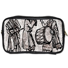Man Ethic African People Collage Toiletries Bags 2 Side by Celenk