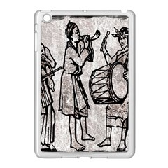 Man Ethic African People Collage Apple Ipad Mini Case (white)