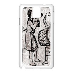 Man Ethic African People Collage Samsung Galaxy Note 3 N9005 Case (white) by Celenk