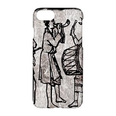 Man Ethic African People Collage Apple Iphone 7 Hardshell Case