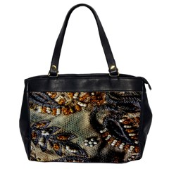 Texture Textile Beads Beading Office Handbags by Celenk