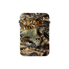 Texture Textile Beads Beading Apple Ipad Mini Protective Soft Cases by Celenk