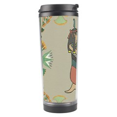Egyptian Woman Wings Design Travel Tumbler by Celenk