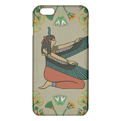 Egyptian Woman Wings Design Iphone 6 Plus/6s Plus Tpu Case by Celenk