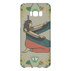 Egyptian Woman Wings Design Samsung Galaxy S8 Plus Hardshell Case  by Celenk