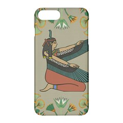 Egyptian Woman Wings Design Apple Iphone 8 Plus Hardshell Case by Celenk