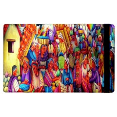 Guatemala Art Painting Naive Apple Ipad 2 Flip Case by Celenk