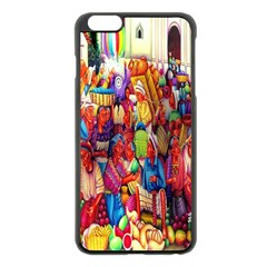 Guatemala Art Painting Naive Apple Iphone 6 Plus/6s Plus Black Enamel Case by Celenk