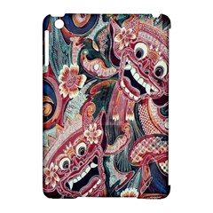 Indonesia Bali Batik Fabric Apple Ipad Mini Hardshell Case (compatible With Smart Cover) by Celenk
