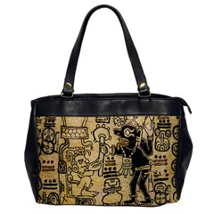 Mystery Pattern Pyramid Peru Aztec Font Art Drawing Illustration Design Text Mexico History Indian Office Handbags