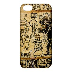 Mystery Pattern Pyramid Peru Aztec Font Art Drawing Illustration Design Text Mexico History Indian Apple Iphone 5c Hardshell Case by Celenk